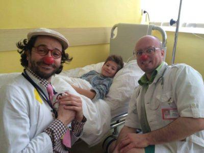 Navštívili nás s plným náručím radosti Dr. Citrón a Dr. Harmanček z o.z. Červený nos