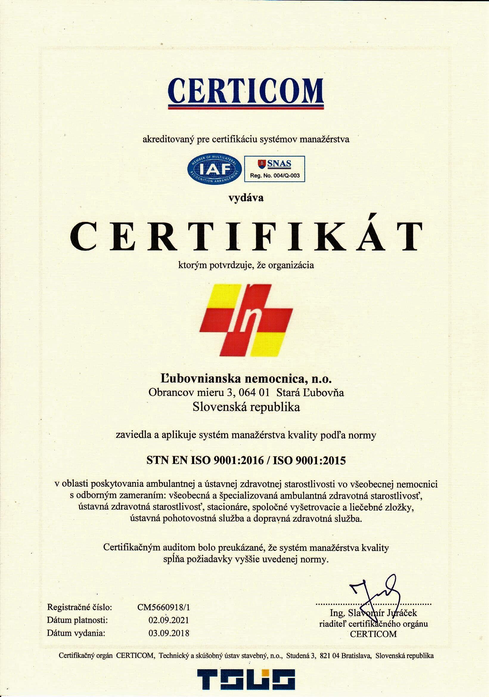 certifikat 2018