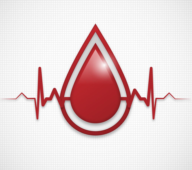foto kvapka krvi