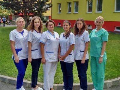 Erazmus –  Poľské študentky na praxi v Ľubovnianskej nemocnici, n.o.
