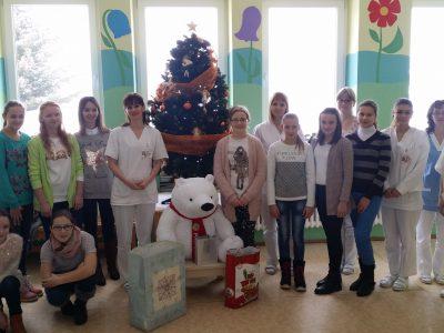 Vianočná návšteva detí zo ZŠ Nová Ľubovňa