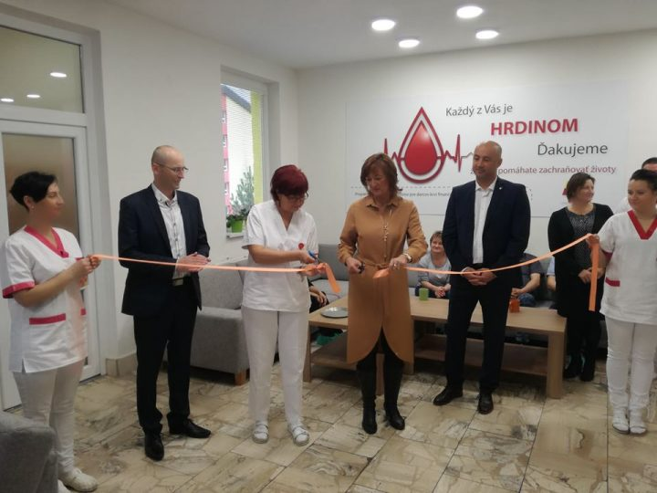 Nové priestory pre darcov krvi